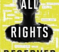 Book Review. All Rights Reserved by Gregory Scott Katsoulis