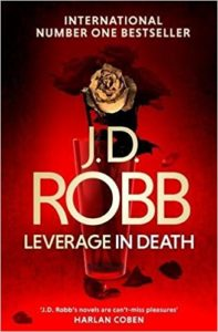 51xPDXU86RL. SX325 BO1204203200  1 197x300 - Book Review. Leverage in Death by J.D. Robb