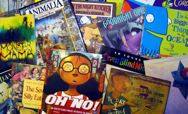 picturebooks - Friday's Fave Five
