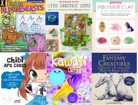 nonficpic - Book Review: Non-fiction Craft books.