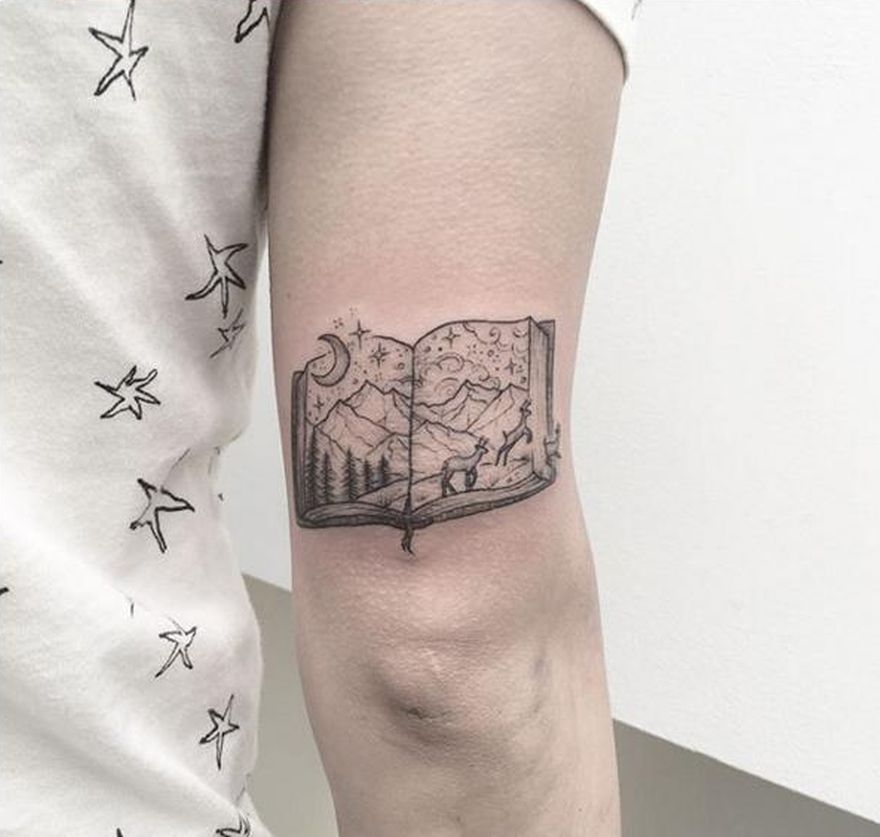book inspired tattoos 3 - Book Tattoos