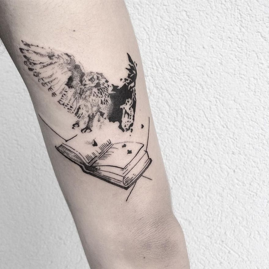 tattoos for book lovers 8 - Book Tattoos