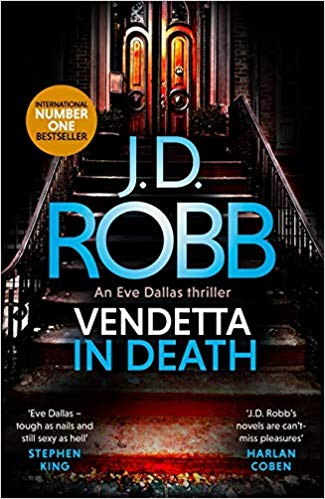 51CI0v8aHL. SX323 BO1204203200  - Book Review- Vendetta in Death by J. D. Robb