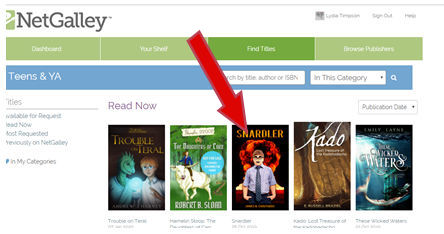 net4 - How to get accepted on NetGalley