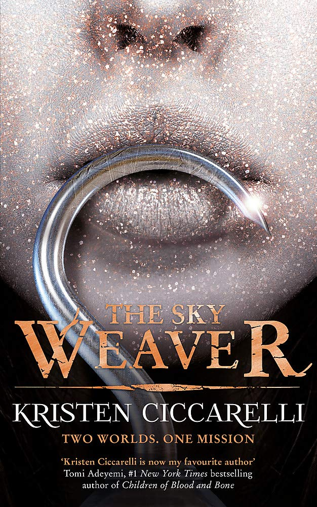 71zggj 3EFL - Book review. The Sky Weaver by Kristen Ciccarelli