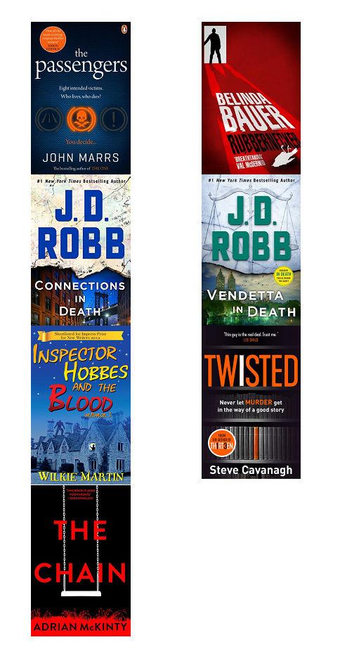 crime - 2019 Reading Roundup