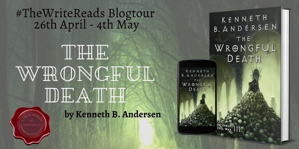 EWqDK9 WAAIlEik 1024x512 - Book Review- The Wrongful Death by Kenneth B Andersen.