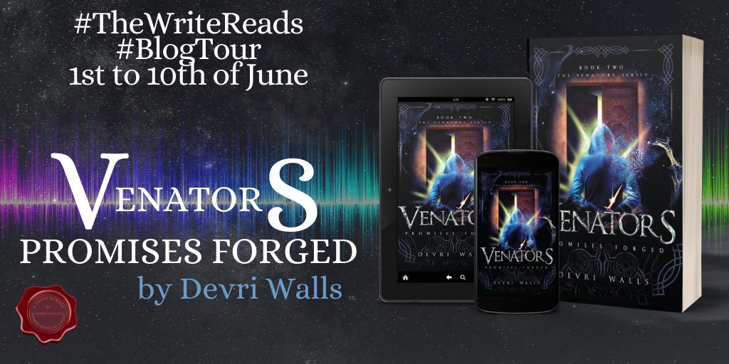 ven 1024x512 - Book Review- Venators 2 Promises Forged by Devri Walls