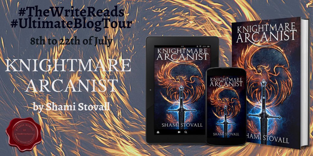 pbKiR7fs 1 - Book Review- Knightmare Arcanist by Shami Stovall