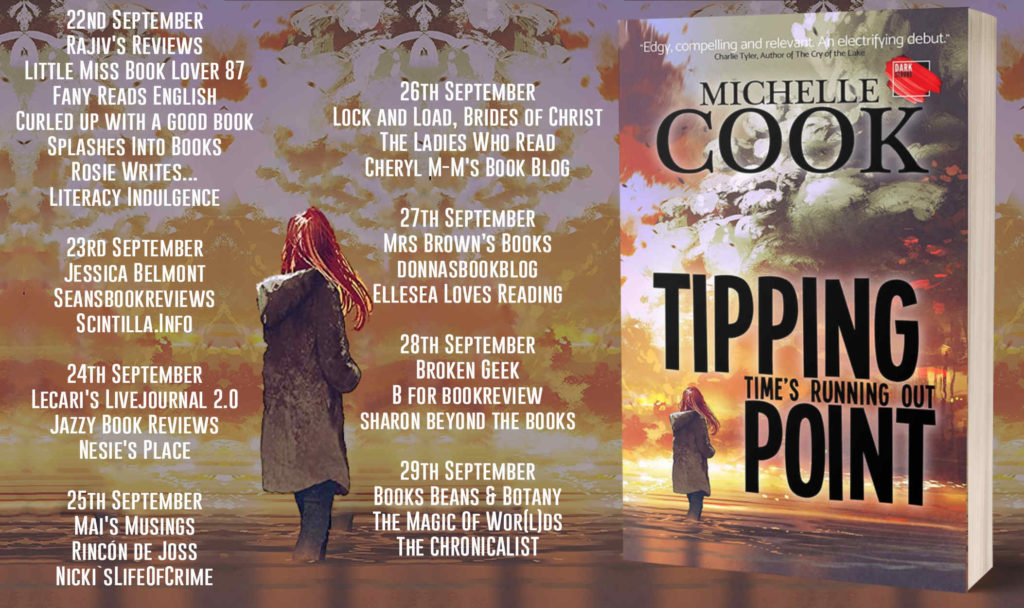 Tipping Point Full Tour Banner 1024x608 - Book Review for Tipping Point by Michelle Cook