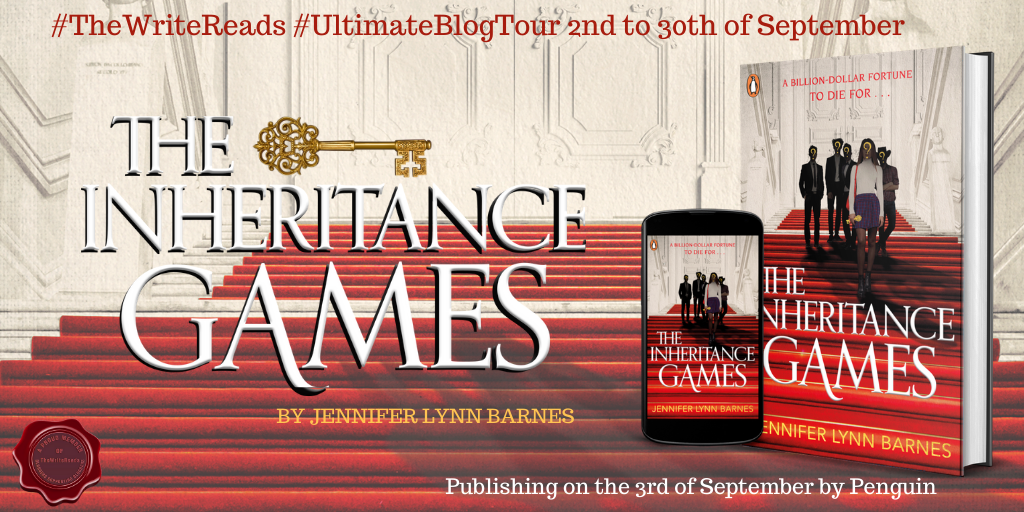thumbnail - Book Review- The Inheritance Games by Jennifer Lynn Barnes