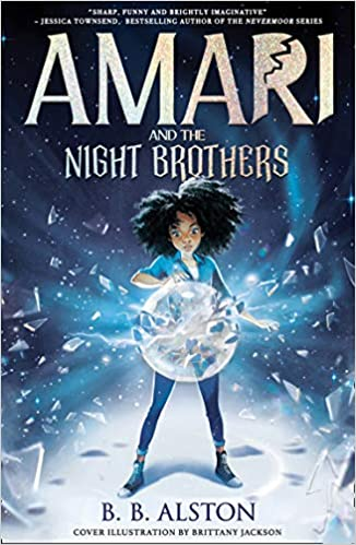 51lpOZXiLPL. SX324 BO1204203200  - Book Review: Amari and the Night Brothers by B. B. Alston