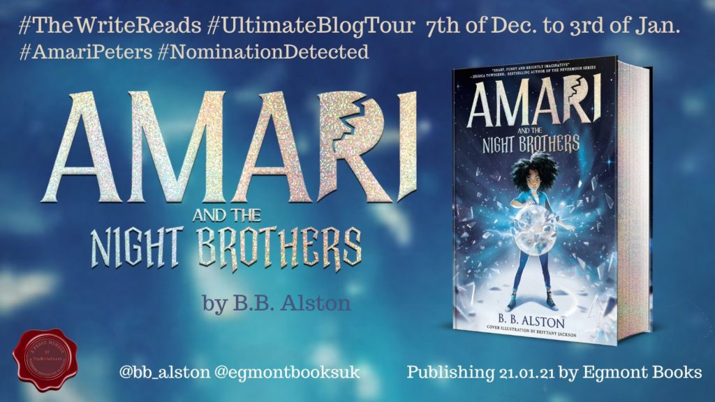 EpJebK7WEAE7ED  1024x576 - Book Review: Amari and the Night Brothers by B. B. Alston