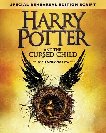 Harry Potter and the Cursed Child Script Book Cover - Anti-TBR