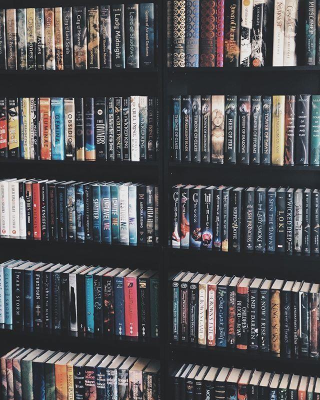 shelfie - The Danger of the Perfect Bookshelf