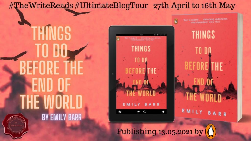 teotw 1024x576 - Book Review for Things to do Before the End of the World by Emily Barr