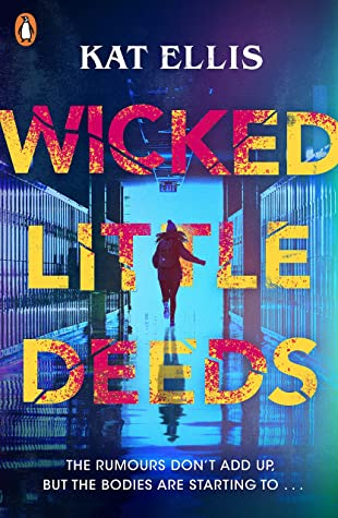 55600867. SY475  - Book Review for Wicked Little Deeds by Kat Ellis